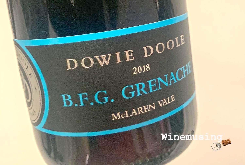 Dowie Doole BFG Grenache 18